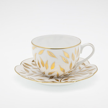 Royal Limoges Olivier Gold Tea Cup