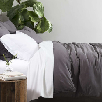Pine Cone Hill Bed 101 Essential Percale Duvet Cover