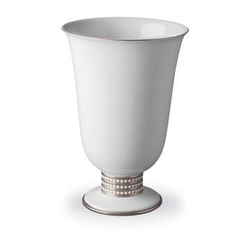L'Objet Perlee Footed Vase