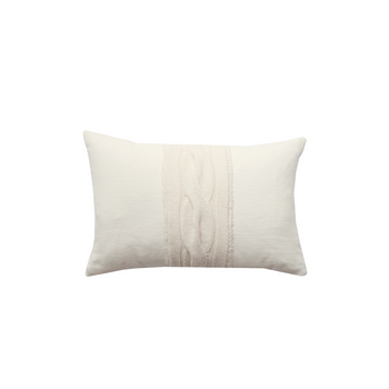 Rani Arabella Claridges Pillow - Ivory - 12x18