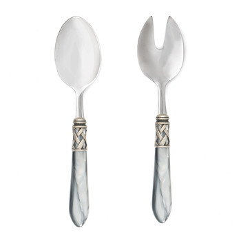 Vietri Aladdin Antique Salad Server Set