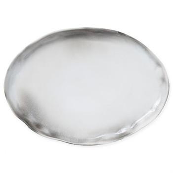Vietri Aurora Ash Large Oval Platter