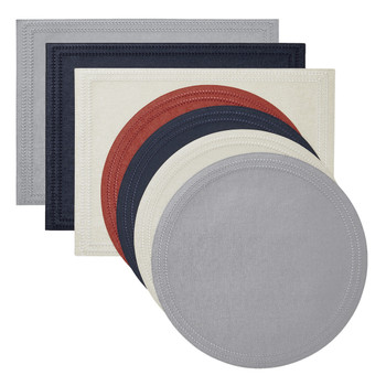 Mode Living Paloma Round Placemats - Set of 4