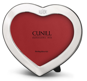 Cunill Sterling Silver Heart Picture Frame