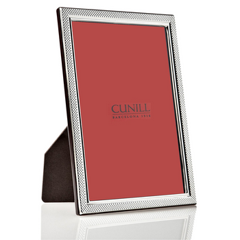 Cunill Sterling Silver Droplets Picture Frame