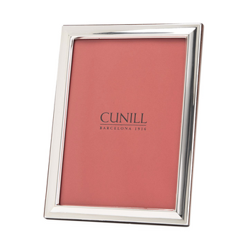 Cunill Sterling Silver Plain Beveled Picture Frame