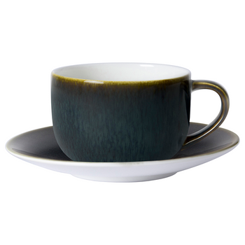 Royal Crown Derby Clouded Smoke Cappuccino Saucer