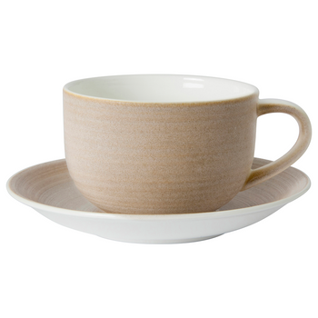 Royal Crown Derby Classic Vanilla Cappuccino Saucer