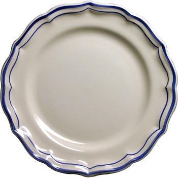 Gien Filet Bleu Dessert Plate