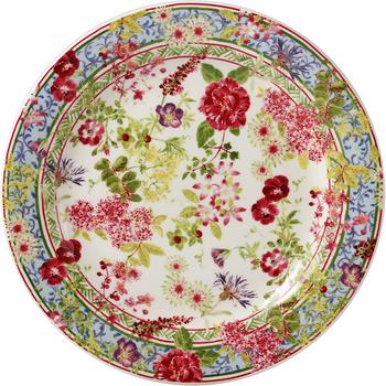 Gien Millefleurs Canape Plate