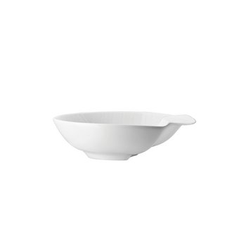 Rosenthal Mesh White Deep Accent Plate