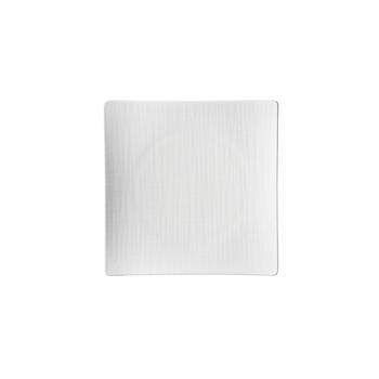 Rosenthal Mesh White Flat Square Plate
