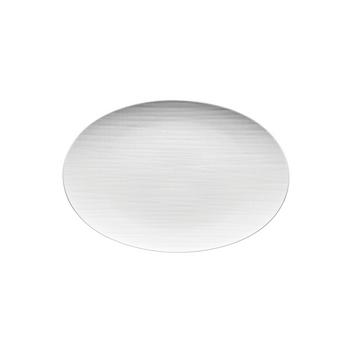Rosenthal Mesh White Small Flat Oval Platter