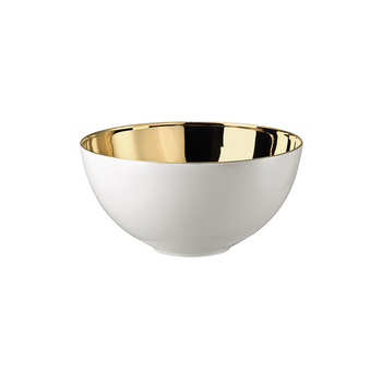 Rosenthal TAC 02 Skin Gold Small Open Vegetable Bowl