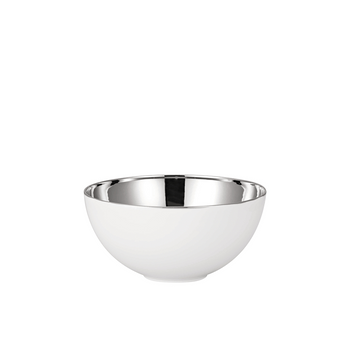 Rosenthal TAC 02 Skin Platinum Small Open Vegetable Bowl
