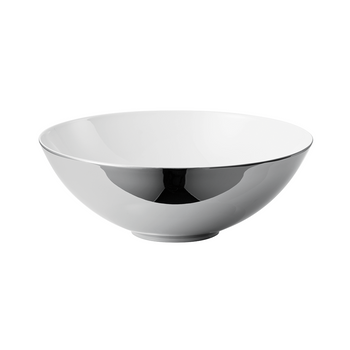 Rosenthal TAC 02 Skin Platinum Large Open Vegetable Bowl