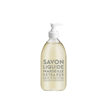 Compagnie de Provence Liquid Soap Olive Wood 16.9 fl oz - Glass Bottle