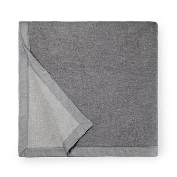 Sferra Nerino Blanket - Grey/Light Grey