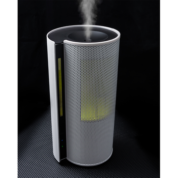 Objecto H5 Spiral Hybrid Humidifier With Aroma Therapy & LED Night Light