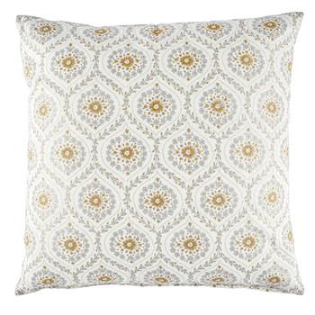 John Robshaw Ditti Metallic Decorative Pillow with Insert - 26x26