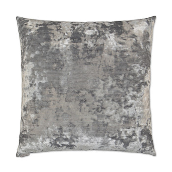 DV KAP Miranda Decorative Pillow - Silver 22x22
