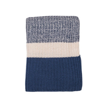 Darzzi Chunky Rib Throw - Blue