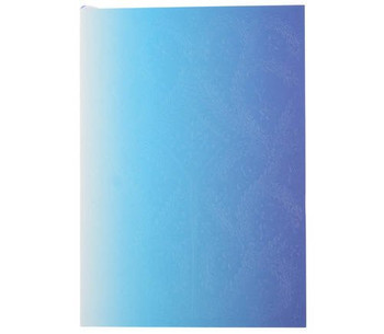 Christian Lacroix A5 Ombre Neon Blue Notebook - Medium
