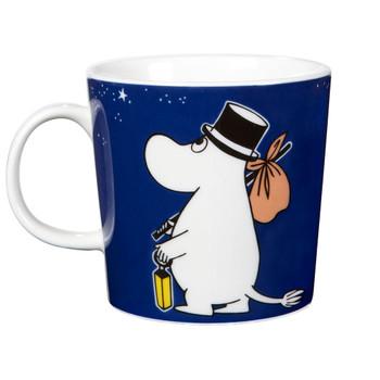 Moomin Mug 10oz Moominpappa Deep Blue