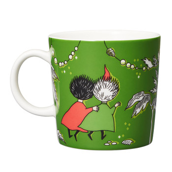 Moomin Mug 10oz-Thingumy & Bob Green