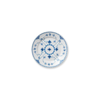 Royal Copenhagen Blue Fluted Half Lace Salad Plate, 8.75""