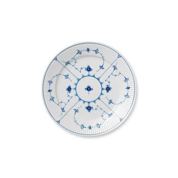 """Royal Copenhagen Blue Fluted Plain Dinner Plate, 10.75"""""""