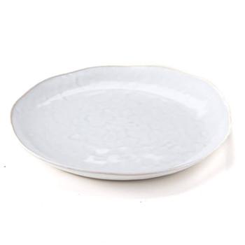 Simon Pearce Burlington Dinner Plate - Cloud
