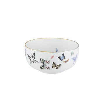 "Vista Alegre Christian Lacroix Butterfly Parade Bowl - 6"""