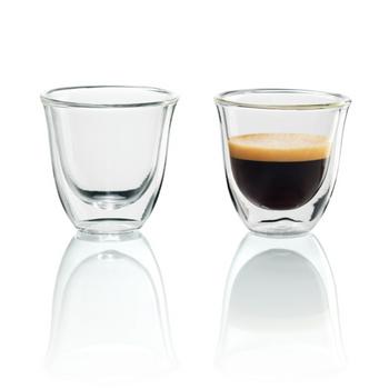 De'Longhi 2 Espresso Double Wall Thermal Glasses