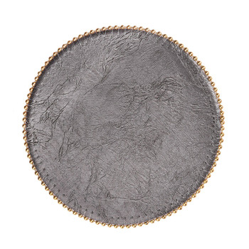 Uppercut Saturnia Charcoal Rd Gold Ball Chain Coaster