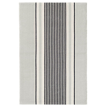 Dash & Albert Gunner Stripe Woven Cotton Rug - 2x3