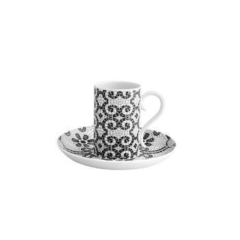 Vista Alegre CalÌÎÌ___ada Portuguesa Set 4 Espresso Cups & Saucers