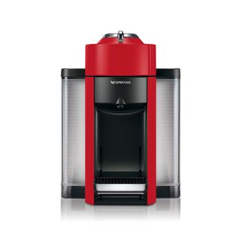 Nespresso Evoluo Coffee and Espresso Maker by De'Longhi - Red