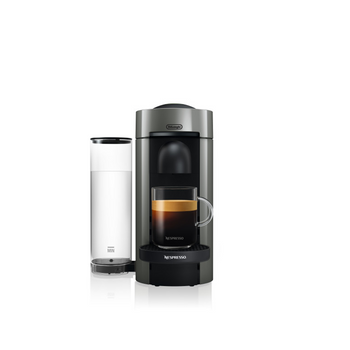 Nespresso Vertuo Plus Coffee and Espresso Maker by De'Longhi - Gray