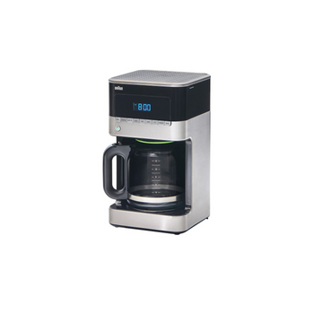 Braun Brewsense 12-Cup Drip Coffee Maker - Stainless/Black - KF7150BK