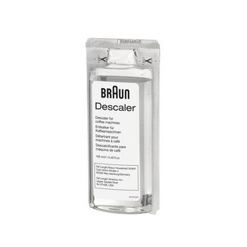 Braun Coffee Maker Descaling Solution - 2-Pack - BRSC003
