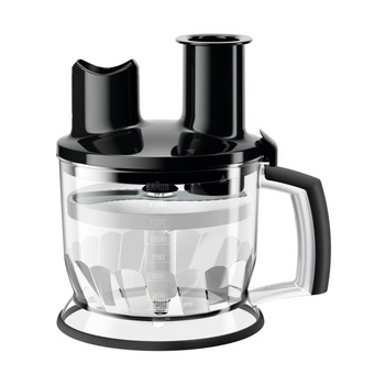 Braun MultiQuick Food Processor Hand Blender Attachment - MQ70B - 6-Cup