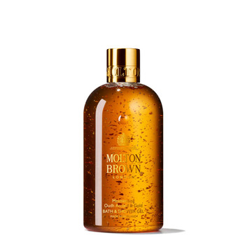 Molton Brown Bath & Shower Gel-Oudh Accord & Gold