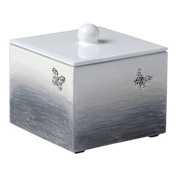 Mike & Ally Breeze - Gray - Short Square Container