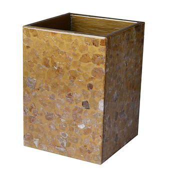 Mike & Ally Mica Straight Wastebasket