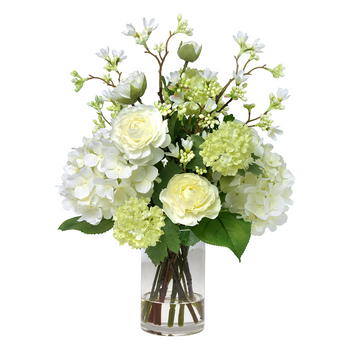 Diane James Ranunculus, Hydrangea and Blossom Bouquet