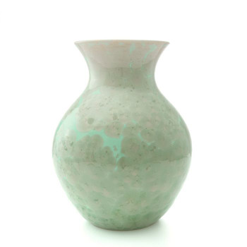 Simon Pearce Crystalline Curio Vase - Large