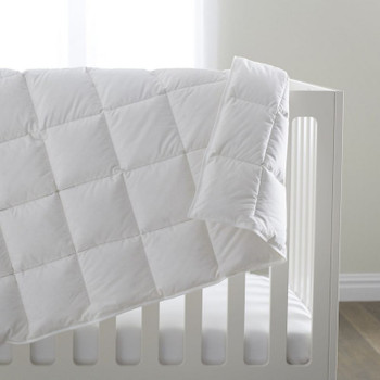 Scandia Home Siesta Down Crib Blanket