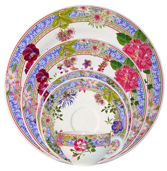 Gien Millefleurs Dinnerware Collection