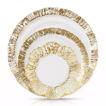 Vietri Rufolo Gold Dinnerware Collection